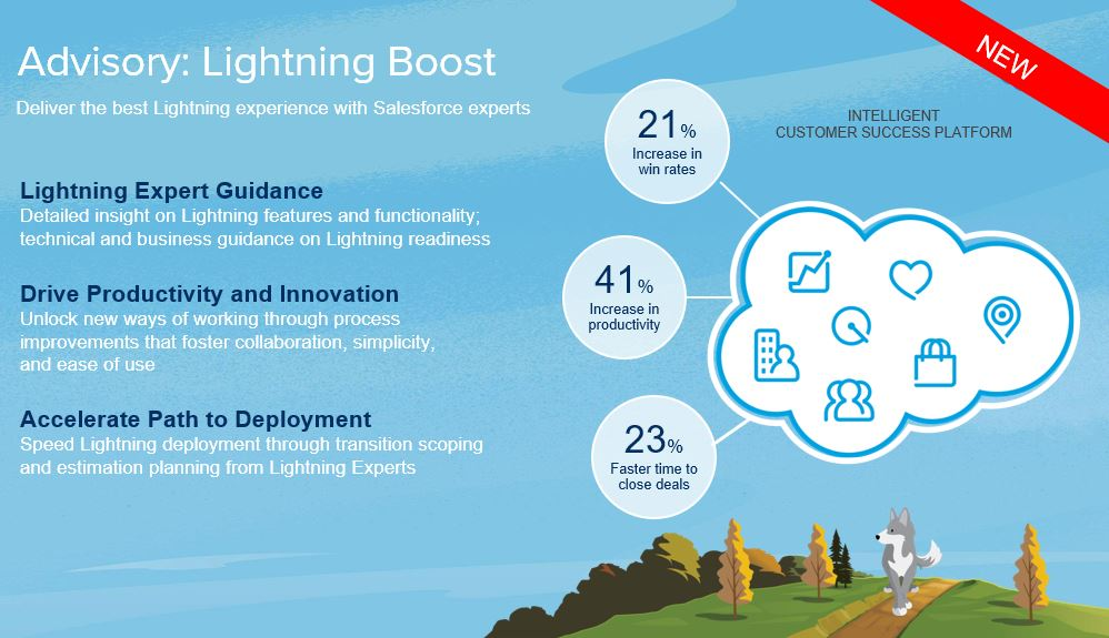 Advisory - Lightning Boost - Salesforce Success Platform