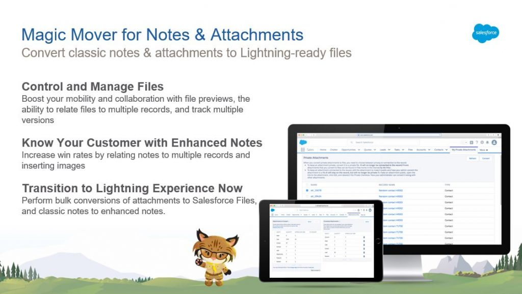 Magic Moves for Notes & Attachments für das UpGrade Classic2Lightning