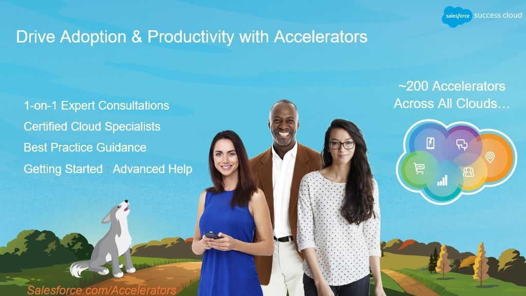 Salesforce Accelerators der Success Cloud