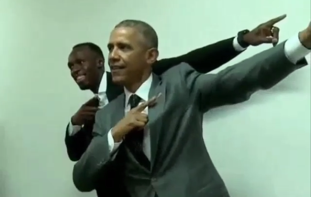BoltObama - High Power Pose for increasing motivation; ©SBNation