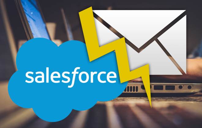 Problem mit E-Mails in Salesforce